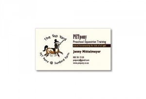 PETpony business card
